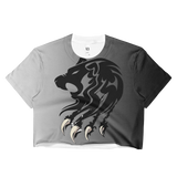Ladies 'Lion Become Legend' Crop Top