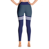 Flagship Knee High Navy Yoga Leggings
