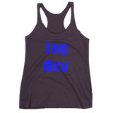 Women's Leg Day Racerback Tank