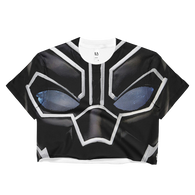 Ladies BP Mask Crop Top