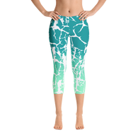 Aqua Fury Capri Leggings