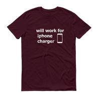 iPhone Charger T-Shirt