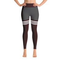 Flagship Knee High Maroon Yoga Leggings