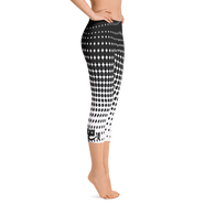 Halftone Capri Leggings