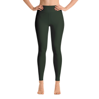Forest Green Yoga Leggings