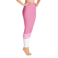 Flagship Pink Sock Yoga Leggings