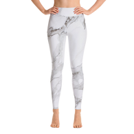 Marble Yoga Leggings