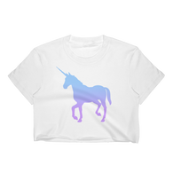 Women's Unicorn Crop Top