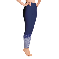 Flagship Blue Stripe Yoga Leggings