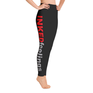 Signature Red/Grey Yoga Leggings