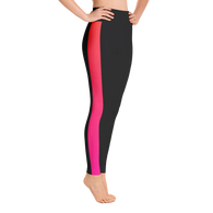 Caffeinated Gradient Stripe Yoga Leggings