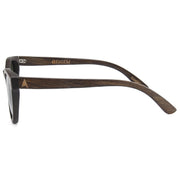 Yosemite - ORIGEM sunglasses in dark bamboo and grey polarized lens - side view