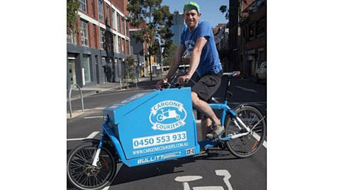 Cargone Couriers, a bicycling courier service Butterbing Cookie Sandwiches