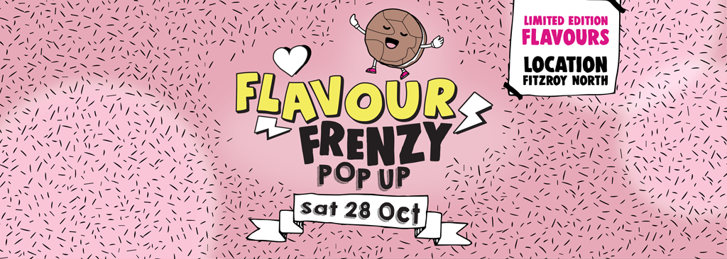 Buttering Flavour POP-UP Cookie Sale Melbourne