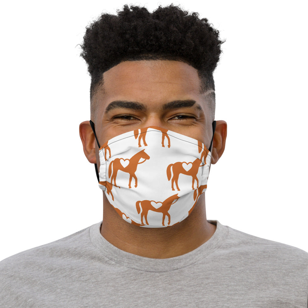 Allover Logo Premium Face Mask