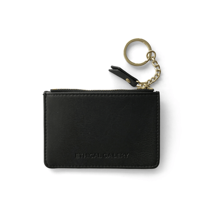 vegan-handbag Ethical Gallery Essential Card Pouch (Black) ethical-gallery