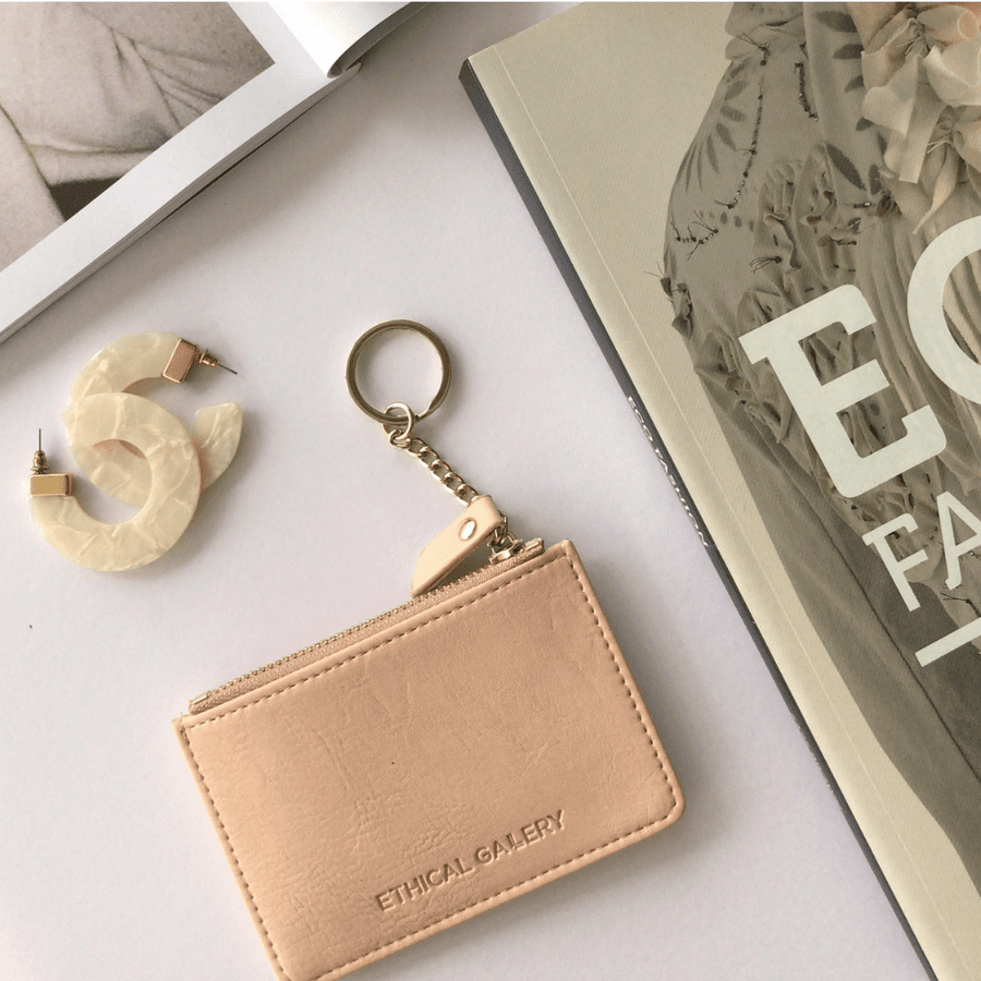 Essential Card Pouch (Peach)