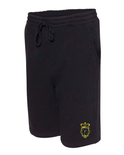 Sweat Shorts – Black/Forest Camo/Grey