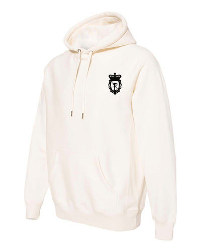 Unisex Heavyweight Hoodie – Black/Bone