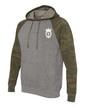 Unisex Camo Sweat Hoodie - Forest