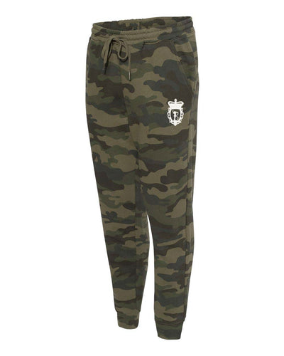Camo Sweat Joggers – Black Camo/Forest Camo