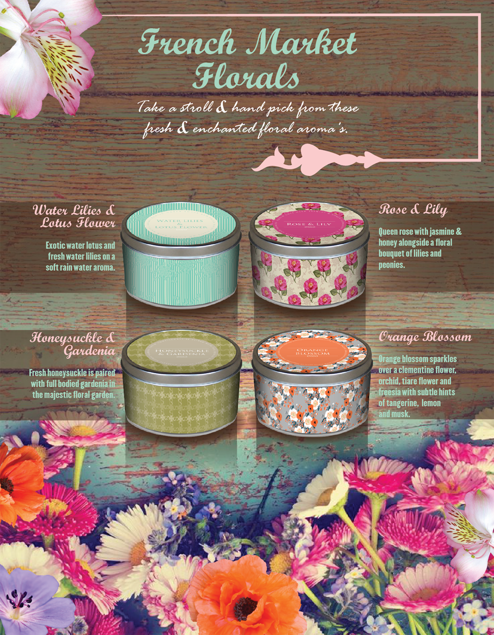 French market collection includes 12 candles candllure french market collection includes 12 candles izmirmasajfo