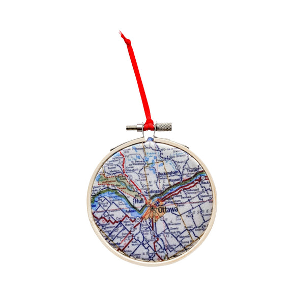 Map Ornaments