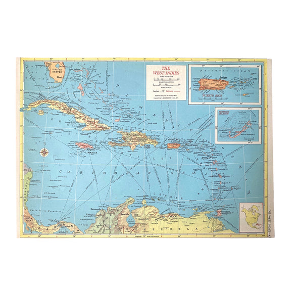 West Indies Atlas Page