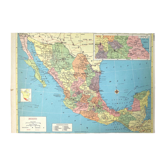 Mexico Atlas Page