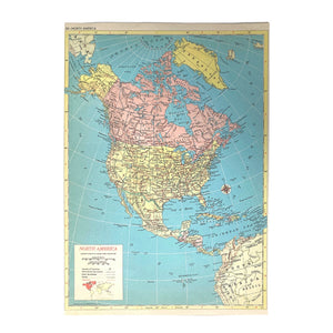 North America/Pacific Ocean Atlas Page