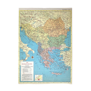 The Balkan States Atlas Page