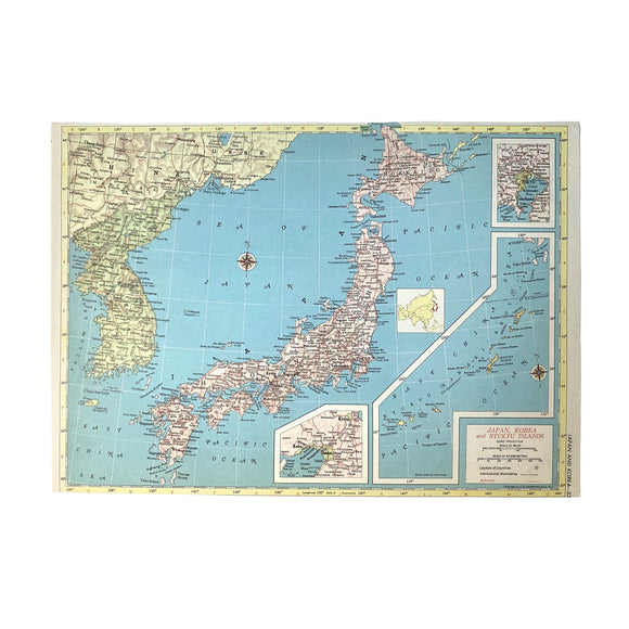 Japan & Korea Atlas Page