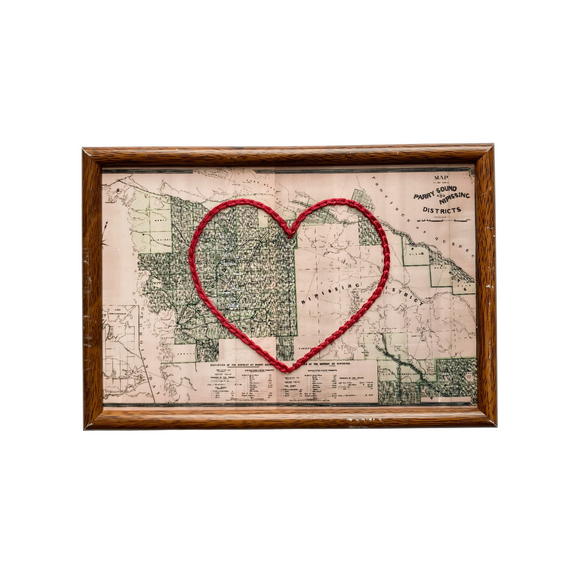 Parry Sound / Nipissing District Heart Map - 4x6