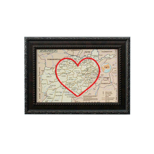 Afghanistan Heart Map