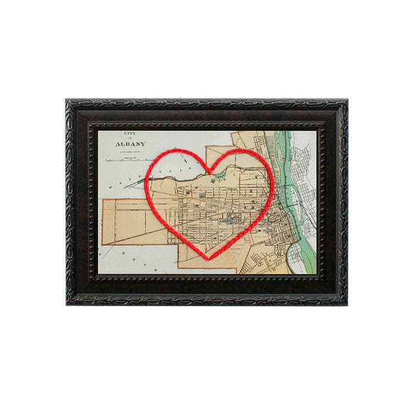 Albany Heart Map