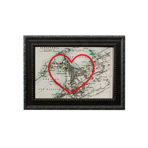 Alexandria, Egypt Heart Map