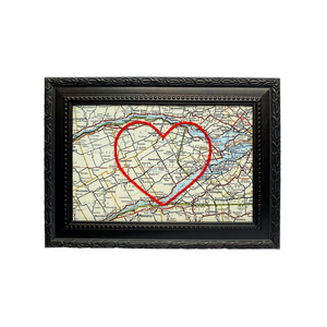 Alexandria, ON Heart Map