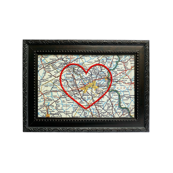 Allentown Heart Map