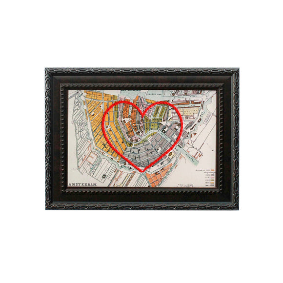 Amsterdam Heart Map