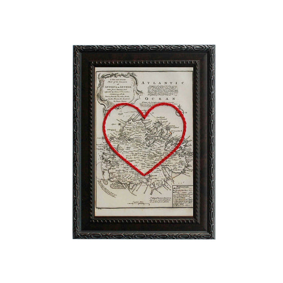 Antigua Heart Map