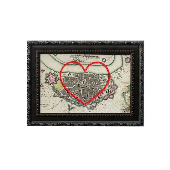 Antwerp Heart Map