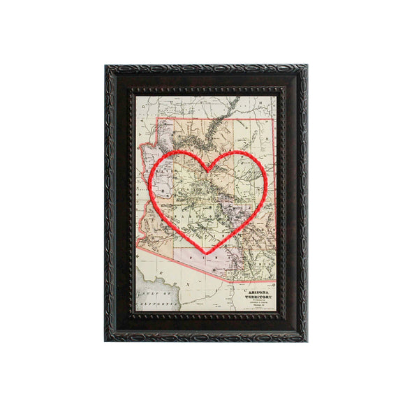 Arizona Heart Map