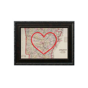 Arkansas Heart Map