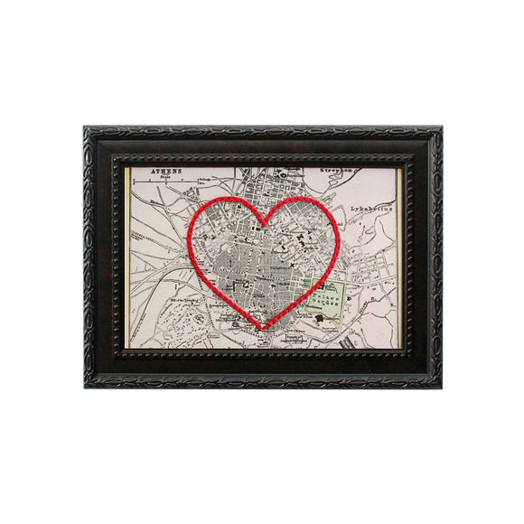 Athens Heart Map