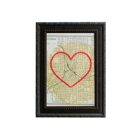 Atlanta Heart Map
