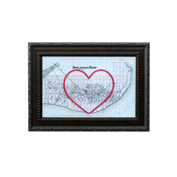 Atlantic City, NJ Heart Map