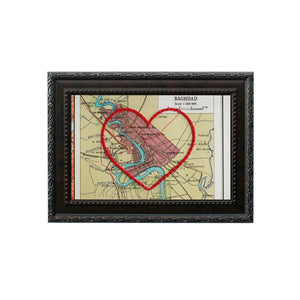 Baghdad Heart Map
