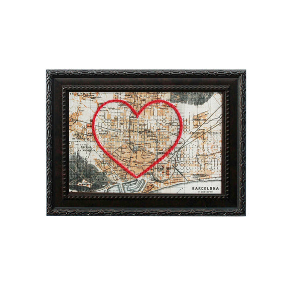 Barcelona Heart Map