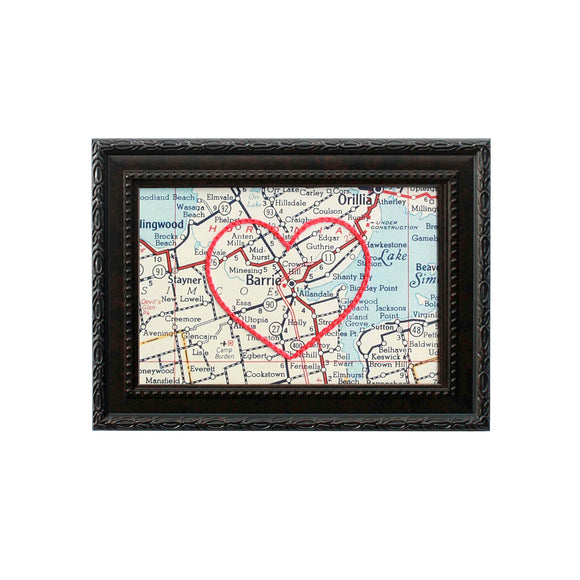 Barrie Heart Map