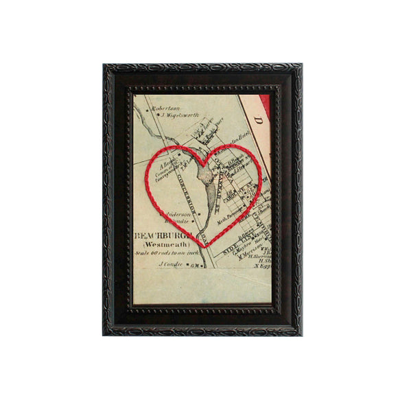 Beachburg Heart Map